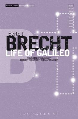Life Of Galileo - Brecht, Bertolt, and Willett, John (Volume editor), and Manheim, Ralph (Volume editor)