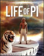 Life of Pi [2 Discs] [Includes Digital Copy] [UltraViolet] [Blu-ray/DVD] - Ang Lee