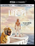 Life of Pi [4K Ultra HD Blu-ray/Blu-ray] [Includes Digital Copy]