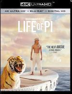 Life of Pi [4K Ultra HD Blu-ray/Blu-ray] [Includes Digital Copy]