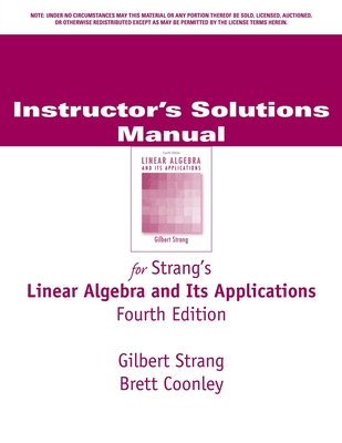 Linear Algebra and Its Applications - Strang