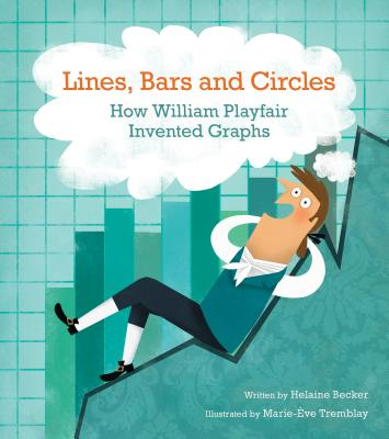 Lines, Bars and Circles: How William Playfair Invented Graphs - Becker, Helaine