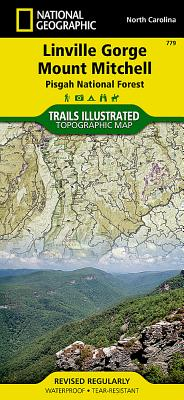 Linville Gorge / Mount Mitchell, Pisgah National Forest - National Geographic Maps (Compiled by)
