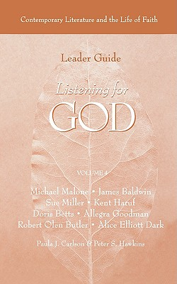 Listening for God Ldr Vol 4 - Carlson, Paula J, and Hawkins, Peter S, and Augsburg Fortress Publishing, Fortress Publishing (Creator)