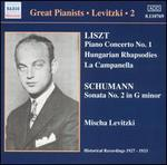 Liszt: Piano Concerto No. 1; Hungarian Rhapsodies; Schumann: Sonata No. 2 in G minor