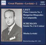 Liszt: Piano Concerto No. 1; Hungarian Rhapsodies; Schumann: Sonata No. 2 in G minor