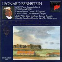 Liszt: Piano Concerto No. 1; Ravel: Piano Concerto in G Major - André Watts (piano); Gary Graffman (piano); Leonard Bernstein (piano); Leonard Bernstein (conductor)