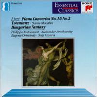 Liszt: Piano Concertos No. 1 & No. 2; Totentanz; Hungaria Fantasy - Alexander Brailowsky (piano); Philippe Entremont (piano)