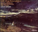 Liszt: Song Transcriptions