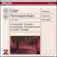 Liszt: The Complete Etudes - Claudio Arrau (piano); Nikita Magaloff (piano)