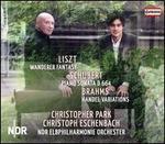 Liszt: Wanderer Fantasy; Schubert: Piano Sonata D 664; Brahms: Handel Variations