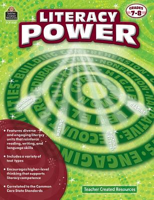 Literacy Power: Grades 7-8 - Sloan, Peter, and Sloan, Sheryl
