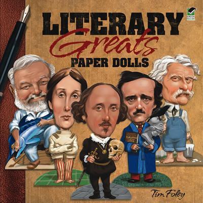 Literary Greats Paper Dolls - Foley, Tim