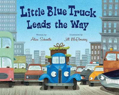Little Blue Truck Leads the Way Big Book - Schertle, Alice