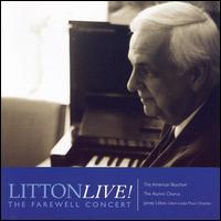 Litton Live!: The Farewell Concert - American Boychoir Alumni Chorus (choir, chorus); American Boychoir Class of 2001 (boy's choir);...