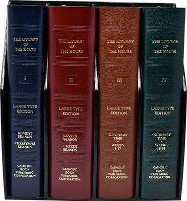 Liturgy of the Hours (Set of 4) Large Print - Catholic Book Publishing Co (Creator)