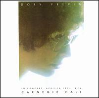 Live at Carnegie Hall - Dory Previn