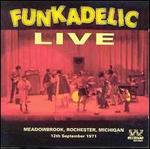 Live at Meadowbrook, Rochester, Michigan 12th September 1971