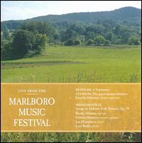 Live from the Marlboro Music Festival: Respighi, Cuckson, Shostakovich - Angela Cordell (horn); Benita Valente (soprano); Beth Guterman (viola); Glenda Maurice (mezzo-soprano); Ida Levin (violin);...