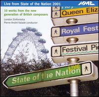 Live from the State of the Nation 2001 - David Purser (trombone); Elder John Thomas (tape); John Constable (piano); Paul Silverthorne (viola); Peter Batchelor (tape);...