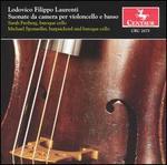 Lodovico Filippo Laurenti: Suonate da camera per violoncello e basso