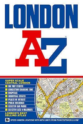 London Street Atlas - Geographers' A-Z Map Company (Illustrator)
