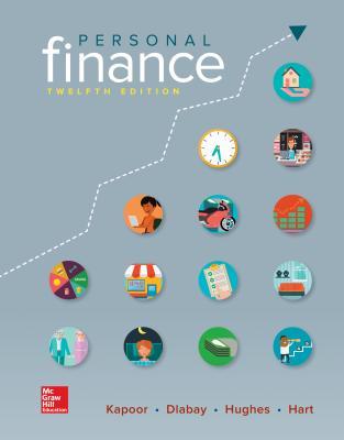Loose Leaf for Personal Finance - Kapoor, Jack, and Dlabay, Les, and Hughes, Robert J