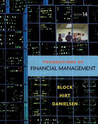 Loose Leaf Foundations of Financial Management with Connect Plus - Block, Stanley, MD