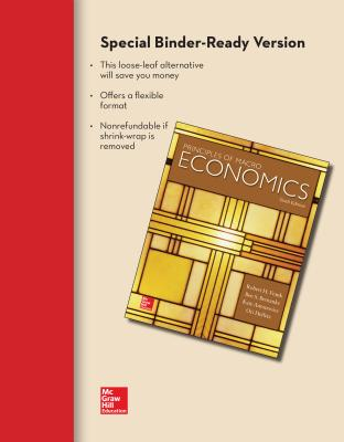 looseleaf version for macroeconomics