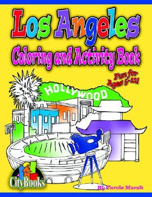 Los Angeles Coloring & Activity Book - Marsh, Carole