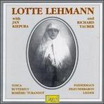 Lotte Lehmann with Kiepura/Tauber