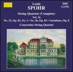 Louis Spohr: Complete String Quartets, Vol. 16