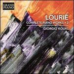 Lourié: Complete Piano Works, Vol. 2