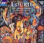 Lourié: The 3 String Quartets; Duo for violin & viola