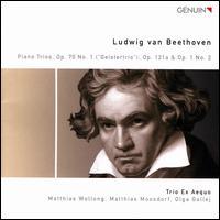 """Ludwig van Beethoven: Piano Trios, Op. 70 No. 1 """"Geistertrio"""", Op. 121a & Op. 1 No. 2 - Trio Ex Aequo"""