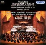 Luigi Cherubini: Requiem in C minor; Mozart: Ave verum corpus; Exsultate jubilate