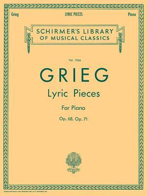 Lyric Pieces - Volume 5: Op. 68, 71: Piano Solo - Grieg, Edvard (Composer)