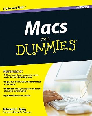 Macs Para Dummies - Baig, Edward C
