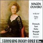 Magda Olivero in Recital