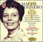 Magda Olivero: The Famous Amsterdam Concerts
