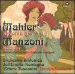 Mahler: Sinfonia n.5; Manozni; Dedica