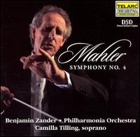 Mahler: Symphony No. 4 - Benjamin Zander (speech/speaker/speaking part); Camilla Tilling (soprano); Christopher Warren-Green (violin);...