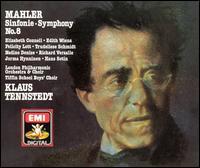 Mahler: Symphony No. 8 - David Hill (organ); Edith Wiens (soprano); Elizabeth Connell (soprano); Hans Sotin (bass); Jorma Hynninen (baritone);...