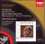 Mahler: Symphony No. 9; Richard Strauss: Metamorphosen; Tod und Verklärung