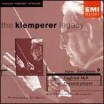 Mahler: Symphony No. 9; Wagner: Siegfried Idyll; R. Strauss: Metamorphosen