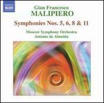 Malipiero: Symphonies Nos. 5, 6, 8 & 11