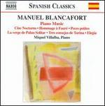 Manuel Blancafort: Piano Music