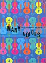 Many Voices: 10 New Pieces for Violin [includes Book]