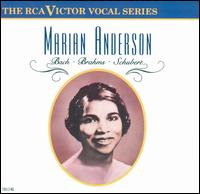 Marian Anderson Sings Bach, Brahms, Schubert - Franz Rupp (piano); Kosti Vehanen (piano); Marian Anderson (vocals); San Francisco Symphony Orchestra & Chorus;...