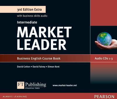 Market Leader 3rd Edition Extra Intermediate Class Audio CD - Scott-Barrett, Fiona